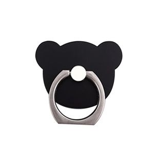 Black Bear Phone Ring Stent/Stand